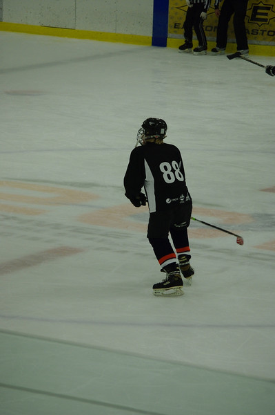 Cole's first game playing the full rink!  Great game - final score was 8 Reign, 9 Walleye.