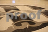 Some of the designs in the terrazzo floor of the BOK Center are wonderful.