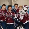 Sam Hiserodt (21), Trevor Ruiz (3), Justin Lindgren (35), Andy Howard (7)