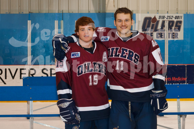 Bobby Watson (15), Elliot Langford (11)