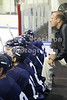 "<a href=""http://www.hockeydb.com/ihdb/stats/pdisplay.php?pid=2637"" rel=""nofollow"" target=""stats"">Tom Karalis</a> behind the bench for the blue."