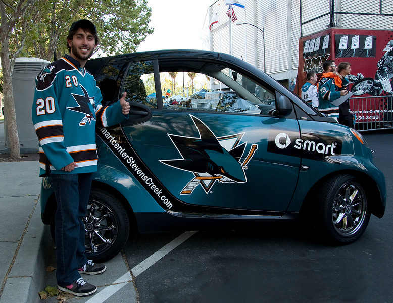 Smart car (with smart person).