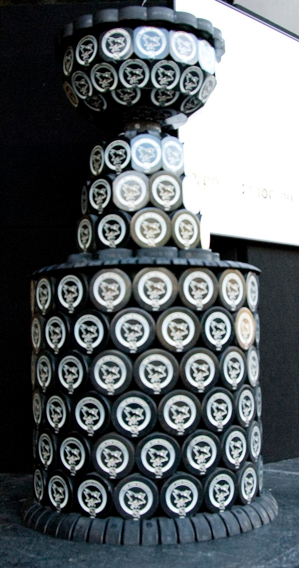 The Stanley Cup of Pucks.