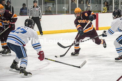 Ice Hockey: Yorktown vs Broad Run 2.28.2018