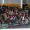 Groton-Dunstable students look on during Friday night's loss to North Middlesex. Nashoba Valley Voice/Ed Niser