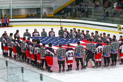 Military Night: North Middlesex 3, Groton-Dunstable 2