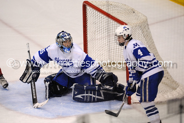 # Minnetonka Skippers  vs. Lakeville North Varsity Boys Hockey - Minnesota State Semi-Finals Game - March 2010 Order a photo print of any photo by clicking the 'Buy' link above.   TIP: Click the photo above to display a larger size Learn more about the images from this game