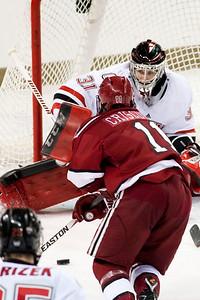 Ryan Massa  NCAA Midwest Hockey Regional vs. Harvard