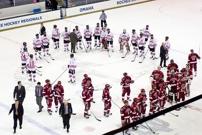 NCAA Midwest Hockey Regional vs. Harvard