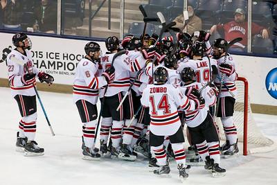 Maverick Celebration  NCAA Midwest Hockey Regional vs. Harvard