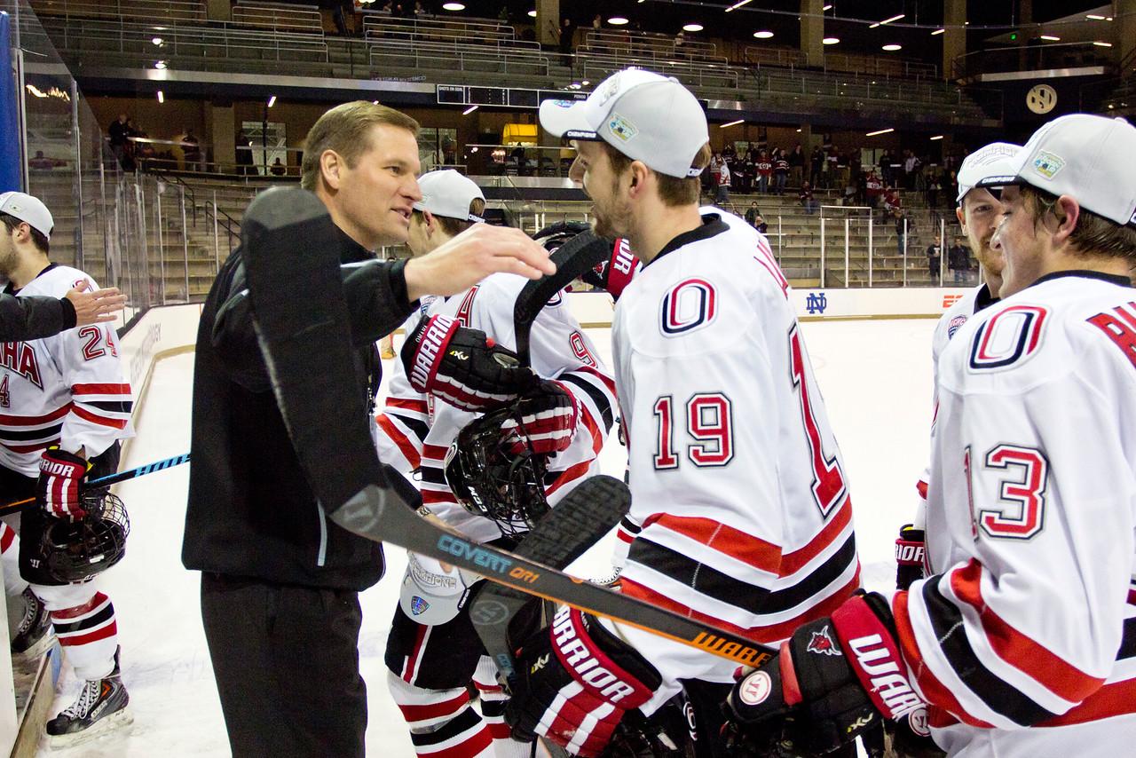 Athletic Director Trev Alberts  NCAA Midwest Hockey Regional vs. RIT