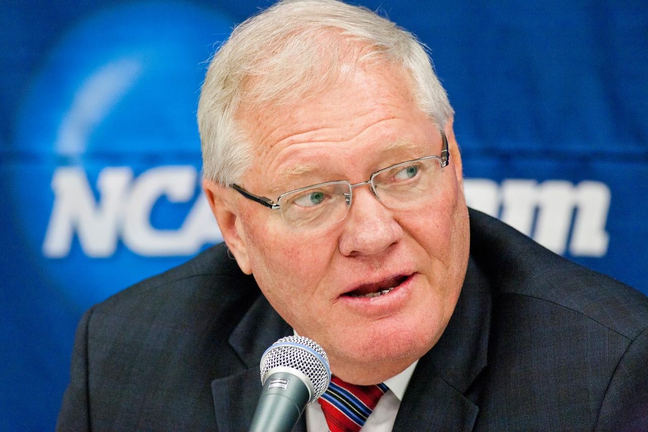 Head Coach Dean Blais  NCAA Midwest Hockey Regional vs. RIT