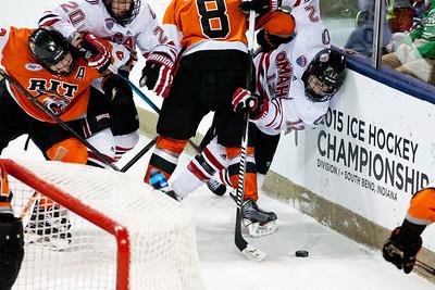 David Pope  NCAA Midwest Hockey Regional vs. RIT