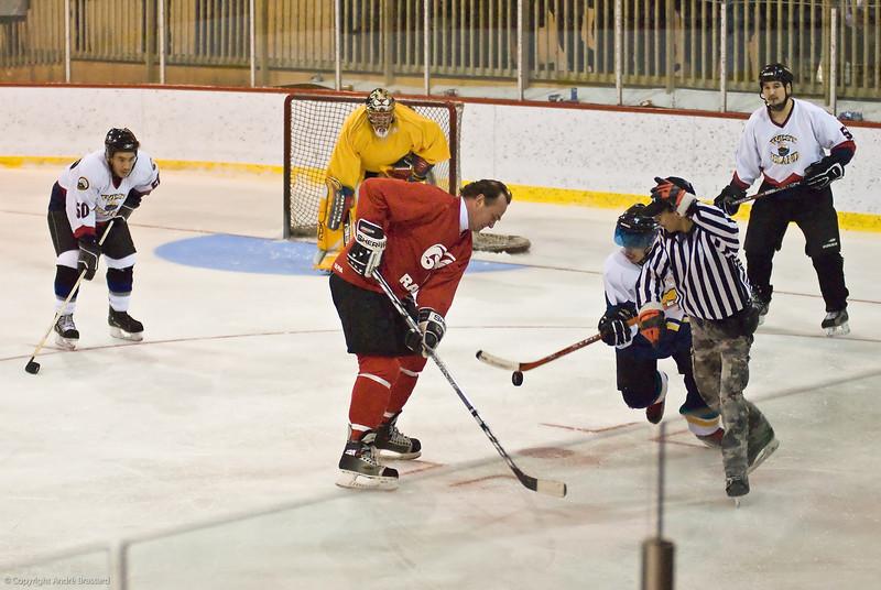 Dec. 10, 2007 All Star team in Inukjuak against local team.