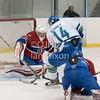 Ontario Junior Hockey League game between  Burlington Cougars and Kingston Voyageurs