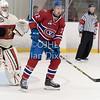 Ontario Junior Hockey League game between Newmarket Hurricanes and Kingston Voyageurs
