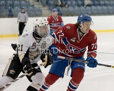 Trenton Golden Hawks VS Kingston Voyageurs