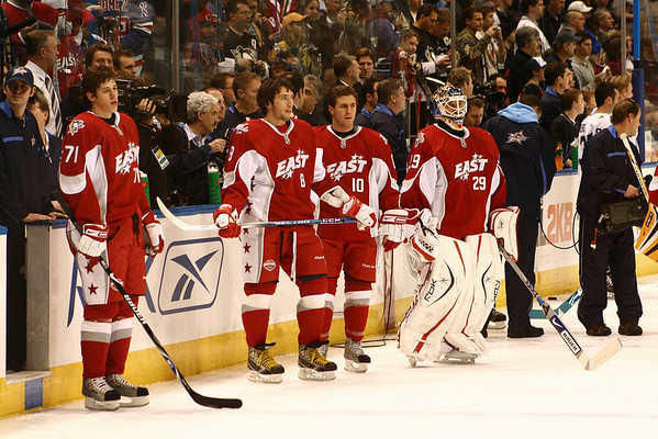 2008 NHL All-Star game. © 2008 Joanne Milne Sosangelis. All rights reserved.