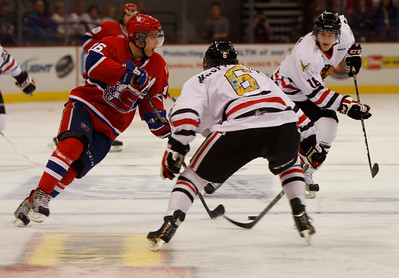 Winterhawks defense shuts down Chiefs for 4-0 victory Saturday night.