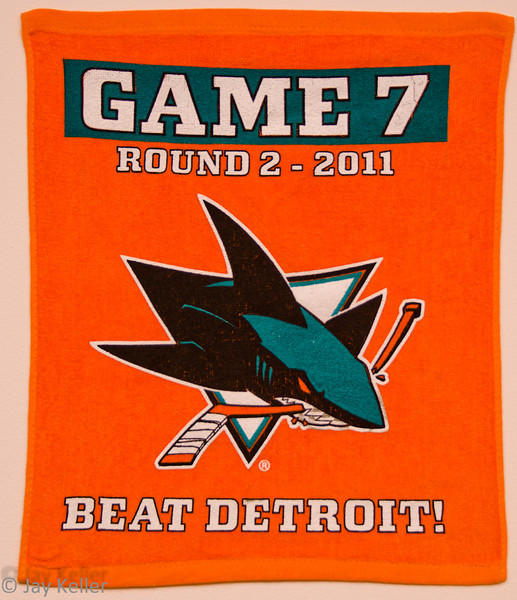 One of the best-looking towels they've ever given out!