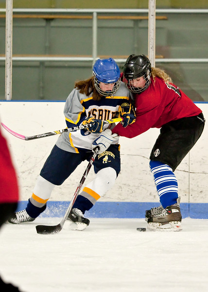 Simsbury Girls JV vs Branford  2-13-10