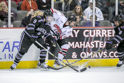 UNO's   Dominic Zombo  UNO's Mavs take on Minnesota State in hockey on Dec. 14, 2012, in Omaha, Neb.,  (Jeff Beiermann/UNO) University of Nebraska at Omaha. Mavericks NCAA