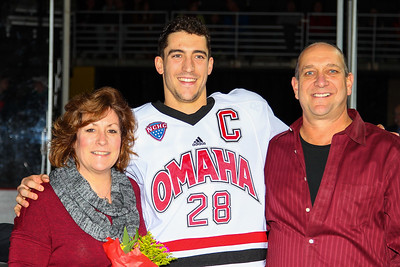 Brian O'Rourke Senior Night