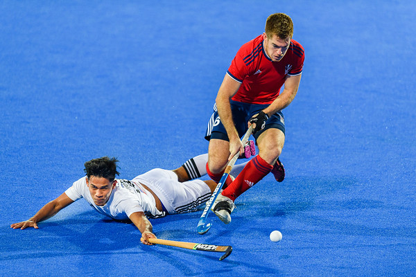 FIH Olympic Qualifiers match between Great Britain vs Malaysia