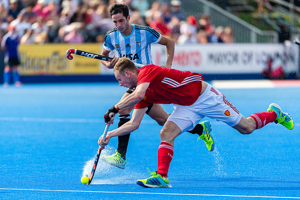 Hero Hockey World League Semi-Final (Men) England v Argentine