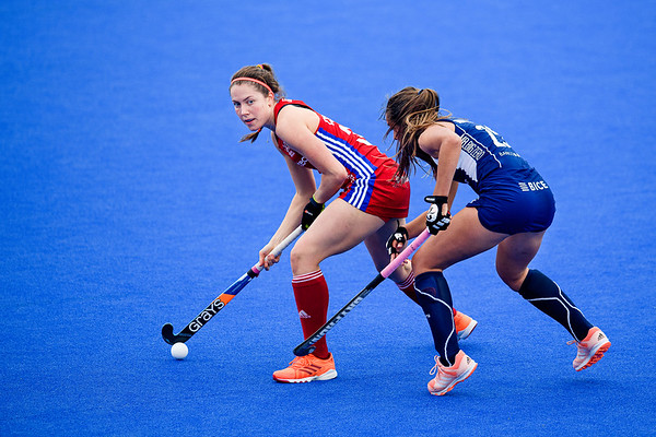 FIH Olympic Qualifiers match: Great Britain vs Chile (Women)