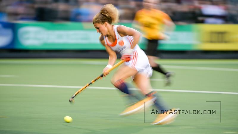 02-06-2016: Hockey: Nederland v Engeland: Amsterdam<br /> <br /> Maria Verschoor from the Netherlands<br /> <br /> Copyright Orange Pictures / Andy Astfalck<br /> <br /> Rabo Super Serie 2016