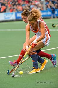 02-06-2016: Hockey: Nederland v Engeland: Amsterdam  Maria Verschoor from the Netherlands  Copyright Orange Pictures / Andy Astfalck  Rabo Super Serie 2016