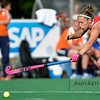 Kathleen Bam from the US during a field hockey game between the US and the Netherlands national teams held on the 10th of June 2016 in Hilversum the Netherlands. The US won the game 3-2.