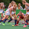 10-06-2016: Hockey: Nederland v USA: Hilversum<br /> <br /> Margot van Geffen from the Netherlands clears the ball from the dutch goal line.<br /> <br /> Copyright Orange Pictures / Andy Astfalck