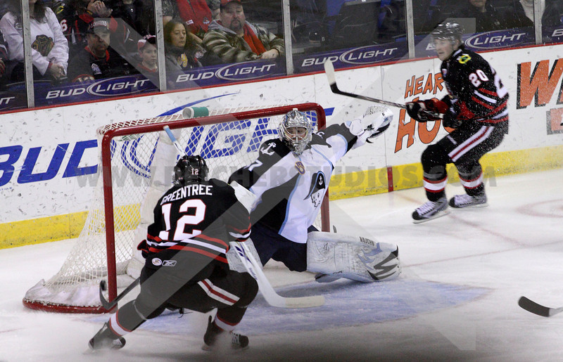 Kyle Greentree gets a goal
