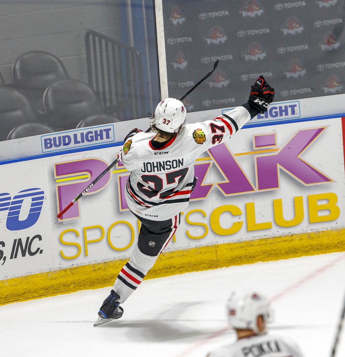 IMAGE: https://photos.smugmug.com/Sports/HockeyPhotos/IceHogs-2017-2018/10-20-17-IceHogs-vs-Griffins/i-f4tMVhx/0/260e15cc/X3/CC6Q4621_1173-X3.jpg