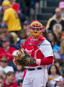 The Boston Red Sox defeated the Minnesota Twins 9-5 on May 8, 2011, at Fenway Park in Boston Massachusetts.