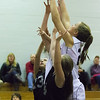 8th Grade Modified Girls basketball Homer vs Chittenango.