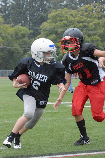 Homer Youth Football Jr Tackle vs Tully<br /> Homer defeated Tully 33-7