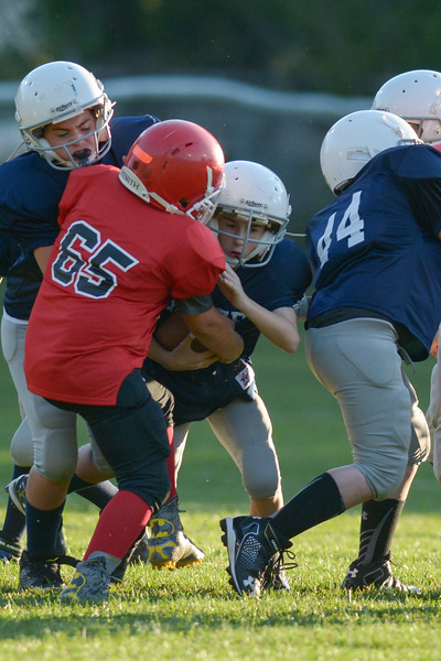 Homer Sr Tackle at Groton.