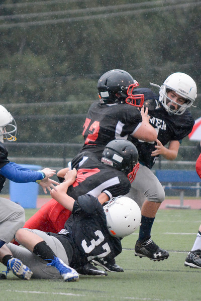 Homer Youth Football Sr Tackle vs Tully.<br /> Homer defeated Tully 36-6.