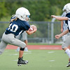 Homer Jr Tackle vs Groton 9/17/16 jasonrarnold.com