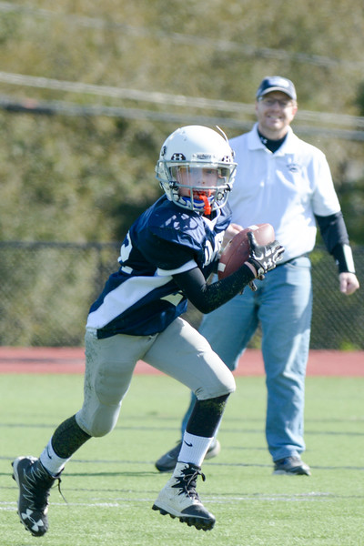 Homer Youth Football Jr Tackle vs Moravia