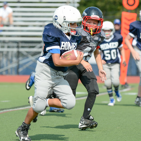 Homer Youth Football vs Southern Hills