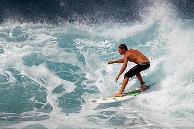 Hookipa Surfing Feb 2012