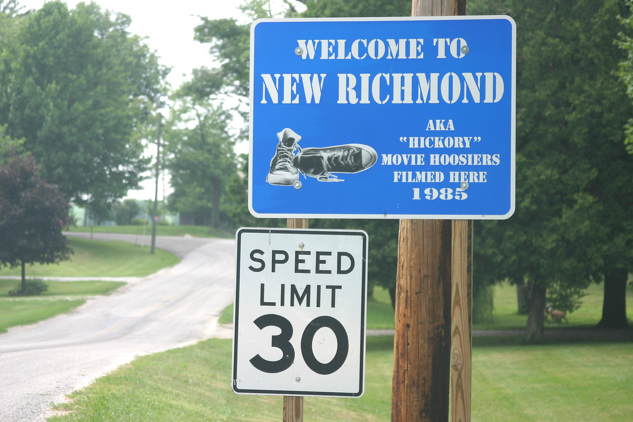 New Richmond is located in Montgomery County, Indiana.