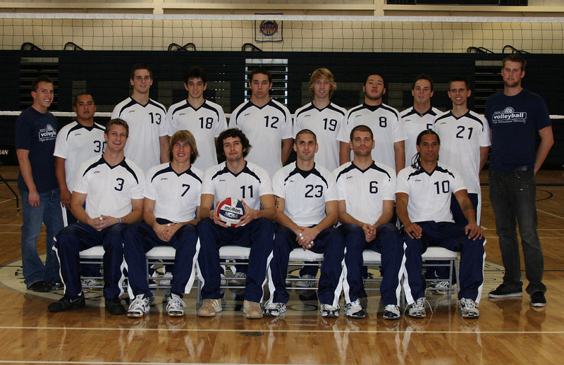 2008 HIU Men's Volleyball