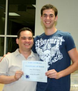Sportsmanship Award - Jose Rodriguez
