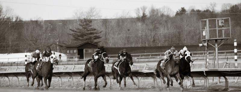 Philadelphila Park Racetrack 1-12-08