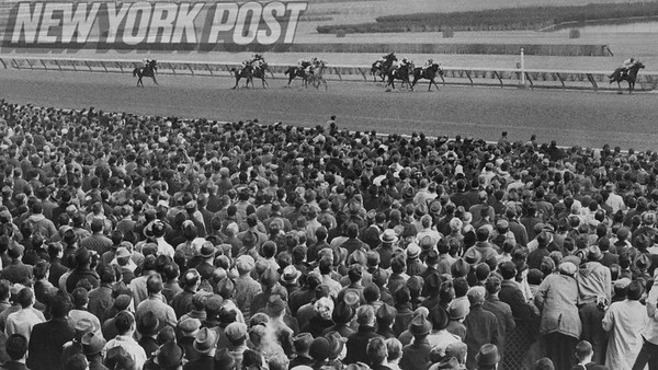 45,000 people attend opening day at the Aqueduct Racetrack. 1965